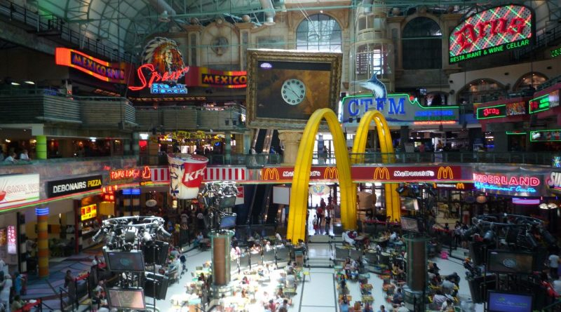 Canal Walk food court